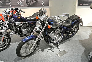 Honda STEED VLX in the Honda Collection Hall..JPG