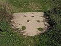 Hoofprints in concrete bridge - geograph.org.uk - 252495.jpg