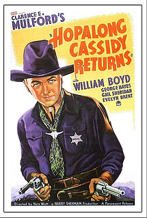 <i>Hopalong Cassidy Returns</i> 1936 film by Nate Watt