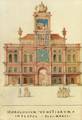 Horologivm Venetiarvm In Platea Divi Marci - Francisco de Holanda (Álbum dos Desenhos das Antigualhas).png