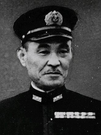 Boshirō Hosogaya - Japanese Admiral Boshirō Hosogaya