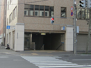 Hōsui-Susukino Station Subway station in Sapporo, Japan