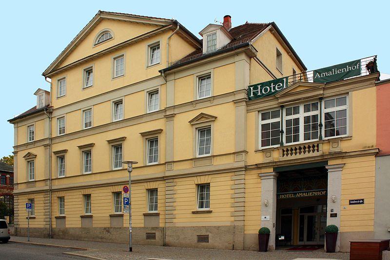 Hotel Amalienhof Weimar Bewertung