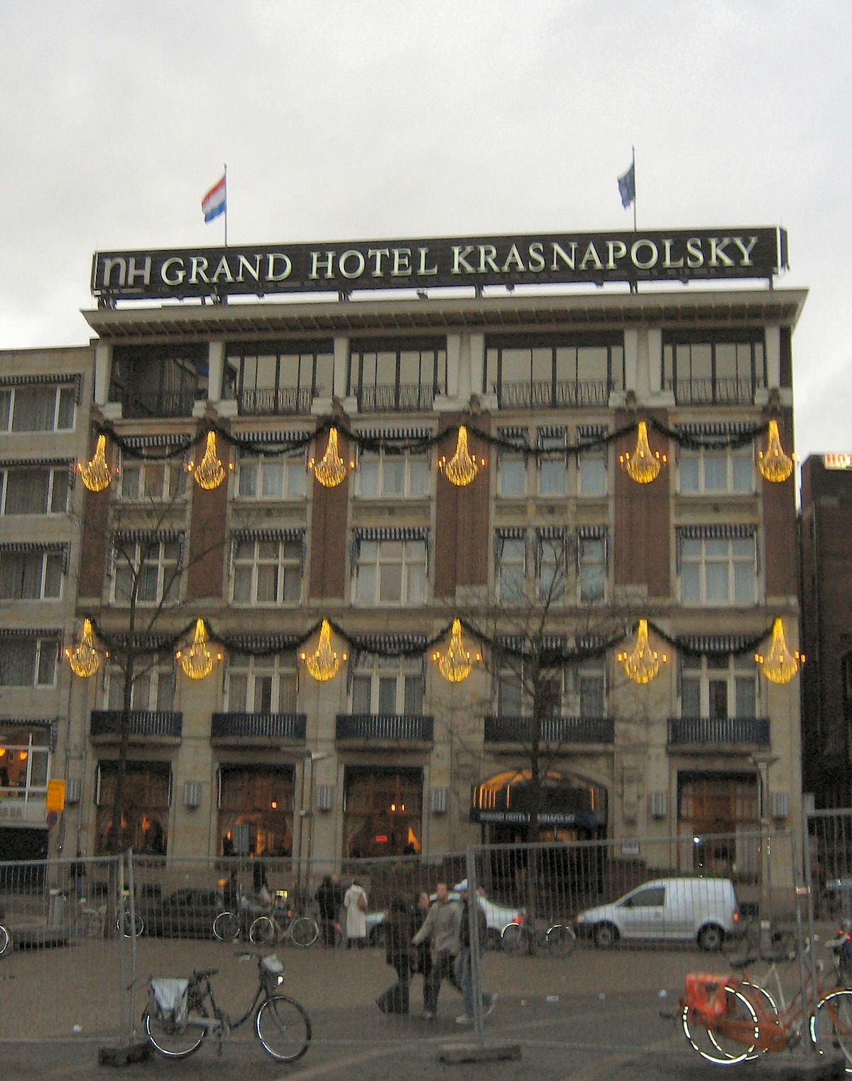 Nh grand hotel krasnapolsky wikip dia for Hotel a amsterdam economici