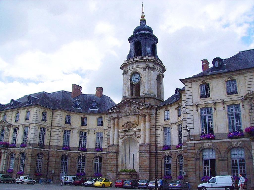 file hotel de ville rennes jpg wikimedia commons