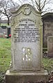 Houghton CWGC gravestone, Holy Trinity, Wavertree.jpg