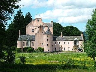 Monymusk Village in Aberdeenshire, Scotland, UK