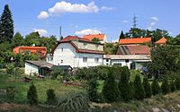 Hrádek, Nová Huť, north part.jpg