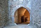 Hrad Pernštejn (Pernstein) - brána (5. nádvoří).JPG