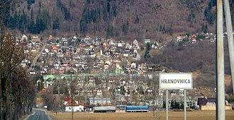 Hranovnica - Hranovnica, look at summer cottages part