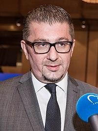 Hristijan Mickoski EPP Western Balkans Summit, 16 May 2018, Sofia, Bulgaria.jpg