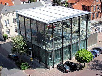 Hubschraubermuseum Bückeburg - New cubic building in 2011
