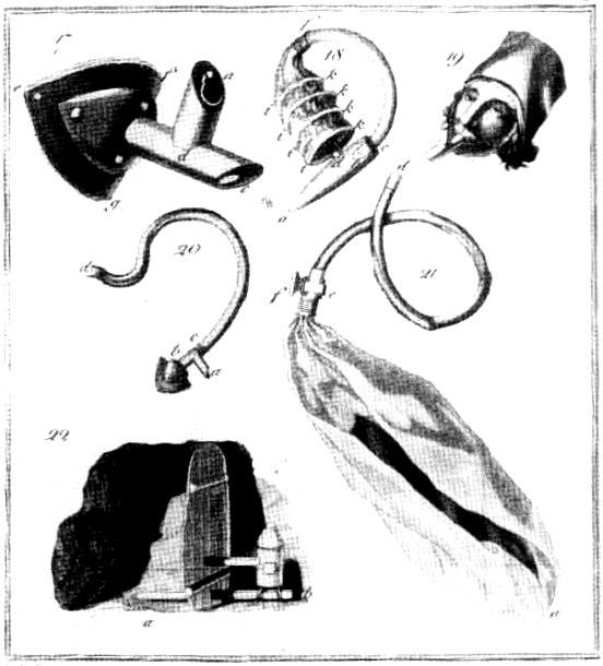 Humboldt gasmask 1799