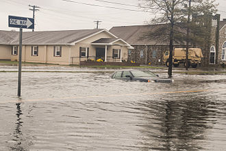 Crisfield, Maryland - Flooding from Hurricane Sandy