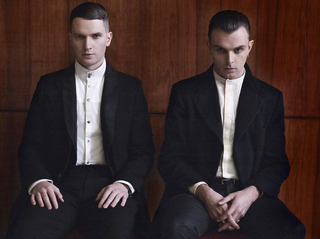 Hurts English synthpop duo
