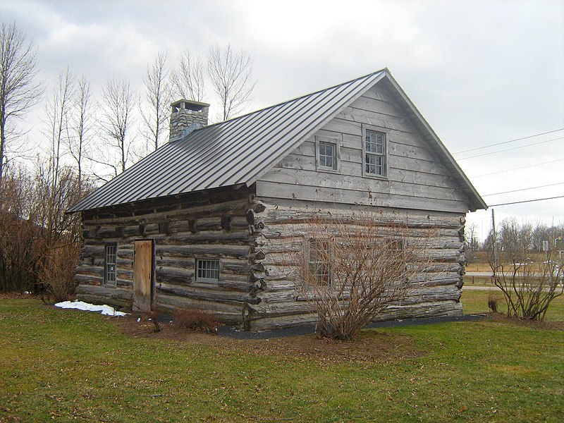 Hyde Log Cabin Architecture