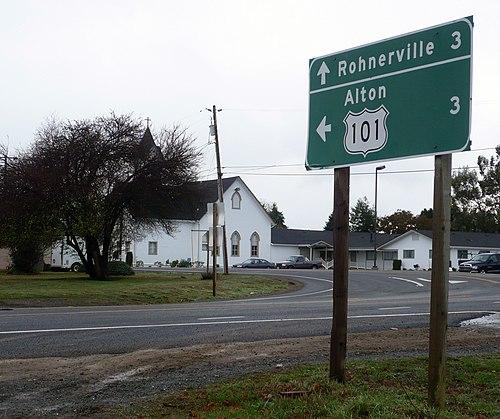 Hydesville mailbbox