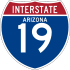 Interstate 19 marker