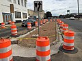 I-91 Viaduct Median Added on Liberty Street, Springfield (23457030620).jpg