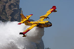 Canadair CL-415 - Image: I DPCN at work 03 (4203528315)