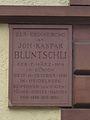 I. Heidelberg Altstadt Campus Universität Heidelberg Johann Kaspar Bluntschli Gedenktafel an seinem Heidelberger Anwesen.jpg