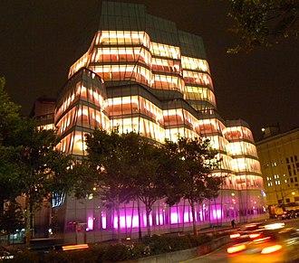 IAC Building - Image: IAC night jeh