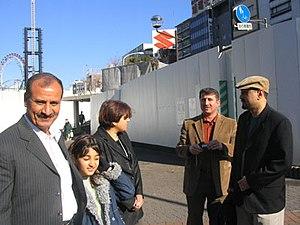 Ali Abbas Khafeef, secrétaire de la Fédération des conseils ouvriers et syndicats en Irak à Bassorah ; Sanaria ; Nada Muaid, vice-présidente de l'Organisation pour la liberté des femmes en Irak ; Azad Ahmed, directeur du Centre de défense des droits des enfants à Bagdad ; Samir Adil, secrétaire général de l'IFC.