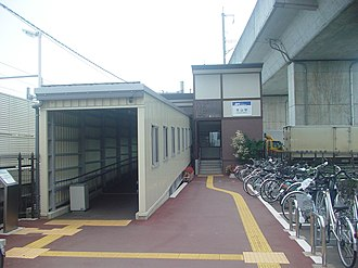Aoyama Station (Iwate) - Aoyama Station in December 2002