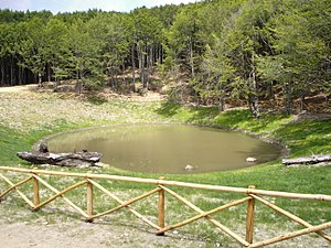 Lake of the Idols - Lake of the Idols following restoration
