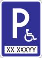 IP 16 - Parkovisko parkovacie miesta s vyhradeným státím (alternatíva) 4.png