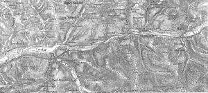 Battle near Laufach / Frohnhofen