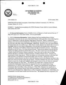 ISN 00125, Fawaz Abdul al-Aziz al-Zahrani's Guantanamo detainee assessment.pdf