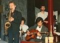 Ian Cruickshank's Gypsy Jazz at the Pizza Express, London, 1986.jpg