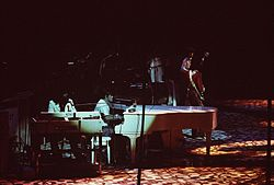Ian Stewart and Billy Preston with The Rolling Stones (1975).jpg