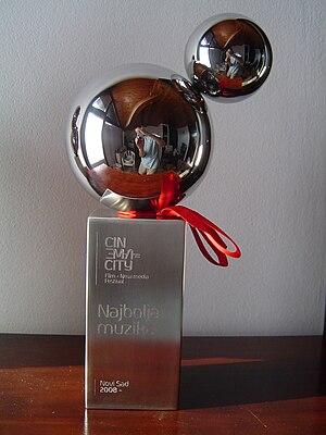 Cinema City (film festival) - Ibis award, designed by Nikola Pešić