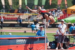 Ihar Fartunau - Ihar Fartunau at the 2013 IPC Athletics World Championships.