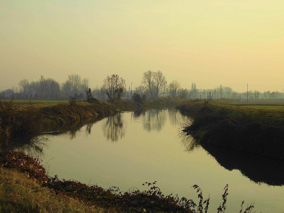 Fiume gambara wikipedia - Letto di un fiume ...