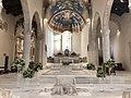 Il presbiterio della chiesa di San Silvestro in L'Aquila.jpg