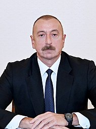 Ilham Aliyev was interviewed by Euronews TV (cropped) (cropped).jpg
