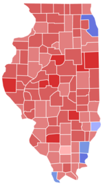 Illinois Senate election by county, 1998.png