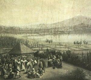 Asentamiento ansestral de Otavalo en la actual Lago San Pablo. cea6d8c5858