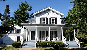 Olof Johnson House - Image: Image Johnson House