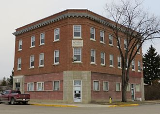 Vermilion, Alberta - The 1912 Imperial Block in Vermilion