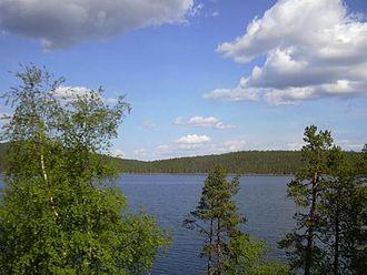Inari Sámi people - Lake Inari
