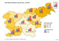Indeks staranja, statistične regije, , Slovenija, 1.7.2013.png