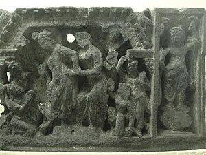 Yasodharā - Siddhartha held by Yasodhara, Loriyan Tangai.