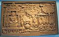 Indonesia, borobudur, scene del sutra gandavyuha, calco di un originale del 700-800.JPG