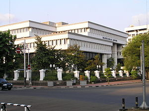 Supreme Court of Indonesia - The Indonesian Supreme Court building in Jakarta