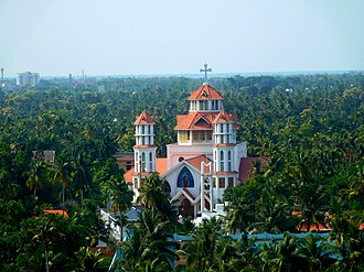 Infant Jesus Cathedral - Image: Infant Jesus Church Thangassery