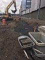 Installing a signal trough for the future Mid-day storage yard. (CQ033, 10-29-2018) (30742928297).jpg